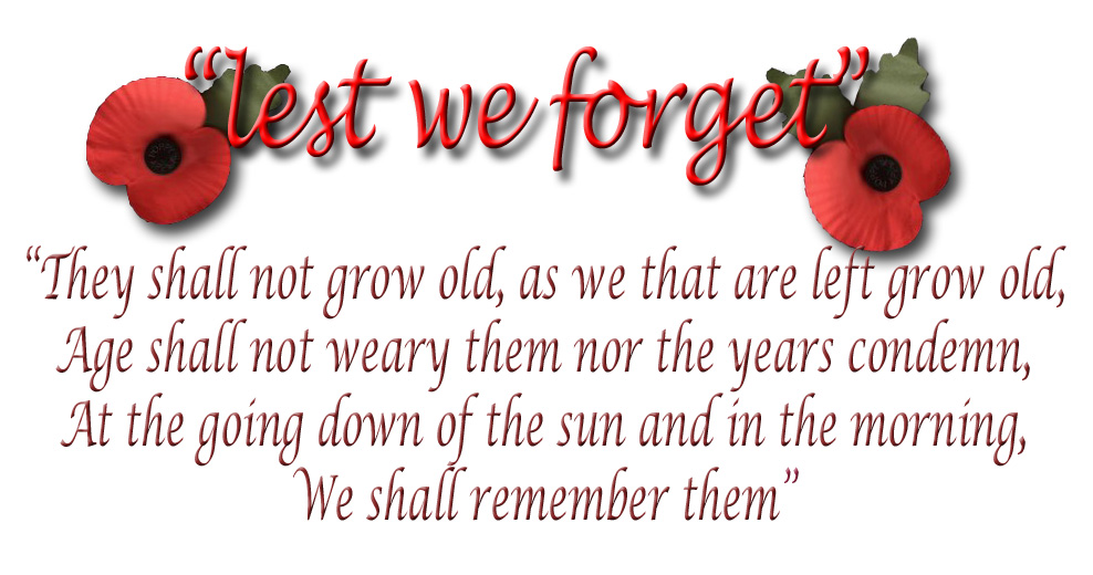 lest we forget1